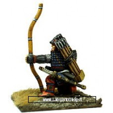 Dixon Minitures - Samurai Wars - FS04 - Samurai kneeling shooting bow