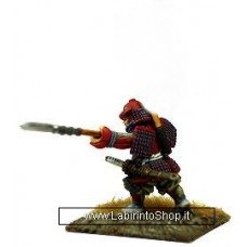 Dixon Minitures - Samurai Wars - FS03a - Samurai charging with Yari