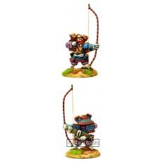 Dixon Minitures - Samurai Wars - 25-10 - Samurai Archer shooting bow