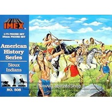 Imex - 1/72 - American History Series - Sioux Indians No.508