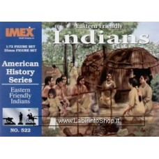 Imex - 1/72 - American History Series - Eastern Friendly Indians No.522