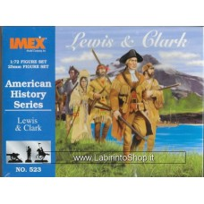 Imex - 1/72 - American History Series - Lewis and Clark No.523