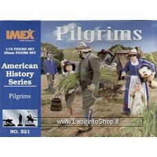 Imex - 1/72 - American History Series - Pilgrims No.521