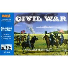 Imex - 1/72 - American Civil War - Union and Confederate Cavalry Set No.602