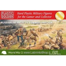 Plastic Soldier World War 2 Russian Infantry In Summer Uniform 1/72