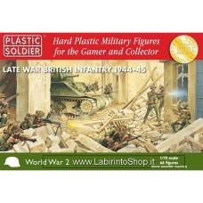 PlPlastic Soldier World War 2  Late War British Infantry 1944-45 1/72