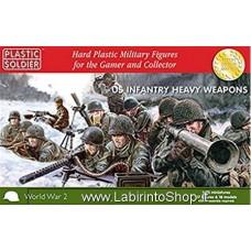 Plastic Soldier World War 2 U.S. Infantry Heavy Weapons 1/72