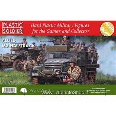 Plastic Soldier World War 2 Allied M3 HalfTrack 1/72