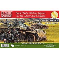 Plastic Soldier World War 2 German SdKfz 251/C HalfTrack 1/72