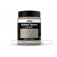 Vallejo Acrylic Paints 200ml Bottle 26.213 Rough Grey Pumice