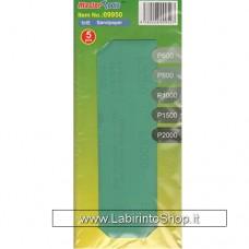 Master Tools 09950 Sandpaper 5 pcs P600 P800 P1000 P1500 P2000