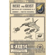 Hexe And Geist Horten – Model Kit