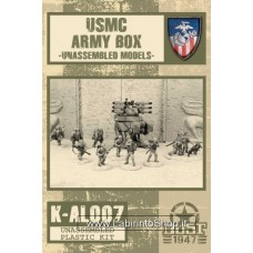 USMC Army Box Model Kit 1/48