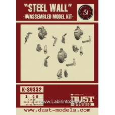 Steel Wall Model Kit 1/48