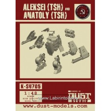 Aleksei (tsh) and Anatoly (tsh) Model Kit 1/48