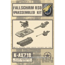 Fallschirm RSO Model Kit 1/48