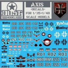 Axis - Decals