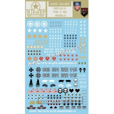 Axis / Allies - Decals