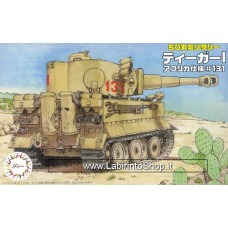 Fujimi - Tiger I Africa Version