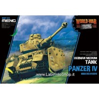 Meng wwt-013 Model – German Medium Tank Panzer IV World War Toons