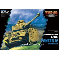 Meng wwt-013 Model – German Medium Tank Panzer IV World War Toons