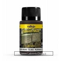 Vallejo Acrylic Paints 40ml Bottle 73.802 Russian Splash Mud 40 ml