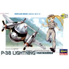 Hasegawa P-38 Lightning (Plastic model)