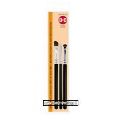 B&B kit 3 Pennelli Sfumatura Pastello Mod 2 (per dry Brush)