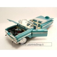 Lucky Die Cast Chevrolet Impala Convertible 1959 Blue Metallic Model Car 1:18