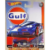 Hot Wheels McLaren F1 GTR (2019 Hot Wheels Premium - Car Culture) GULF series #5