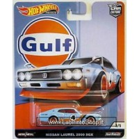 Hot Wheels Nissan Laurel 2000 SGX (2019 Hot Wheels Premium - Car Culture) GULF series #3