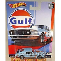 Hot Wheels Ford Mustang Boss 302 (2019 Hot Wheels Premium - Car Culture) GULF series #2