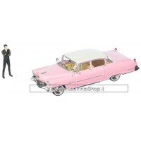 Greenlight - 1955 Cadilac Fleetwood series 60 and Elvis Figure  (Diecast Car) Mijo Exclusive