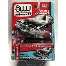Autoworld Vintage Muscle 1976 Cadillac Coupe DeVille D'Elegance Premium Series 1/64