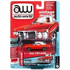 Autoworld Vintage Muscle 1969 Pontiac Firebird Premium Series 1/64
