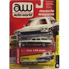 Autoworld Vintage Muscle 1975 Buick Estate Wagon Premium Series 1/64