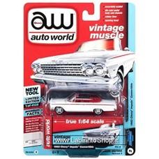 Autoworld Vintage Muscle 1962 Chevy Impala Convertible Premium Series 1/64