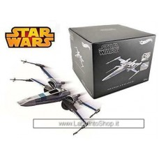 HotWheels T-70 X-Wing Fighter Star Wars VII - The Force Awakens (2015) gray / blue