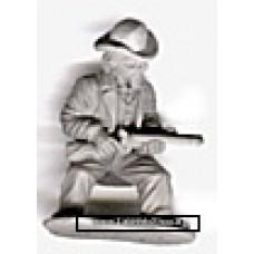Dixon Miniatures - Old West - Crouching firing sawnoff shotgun