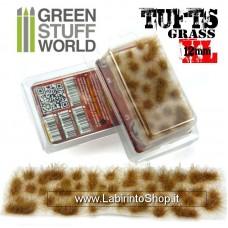Green Stuff World Grass TUFTS XL - 12mm self-adhesive - Dry Brown