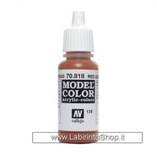 Vallejo 70.818 Red Leather 17 Ml
