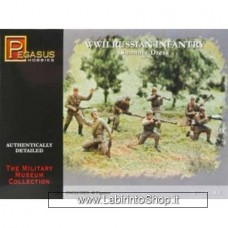 Pegasus 1/72 7268 WWII Russian Infantry (Summer Dress)