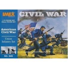 Imex - 1/72 - American Civil War - Union infantry set Set No.505