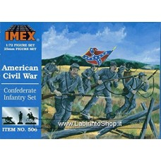 Imex - 1/72 - American Civil War - Confederate infantry set Set No.506