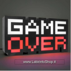 Game Over 8 Bit Sound Reactive Light