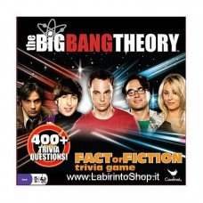 The Big Bang Theory Board Game Trivia Fact or Fiction English Version
