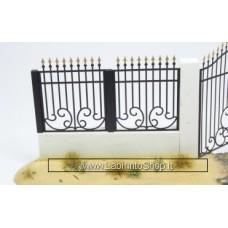 Matho Models 35015 Metal Fence Set A