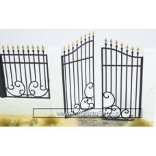 Matho Models 35016 Metal Fence Set A - Gate