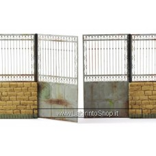 Matho Models 35060 Metal Fence Set B - Gate