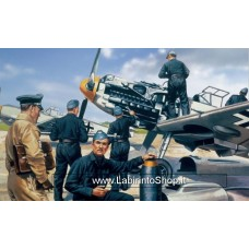 Airfix Vintage Classics - Luftwaffe Personnel 1:76